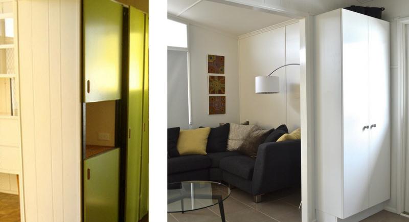 Kitchen Storage pantry renovation