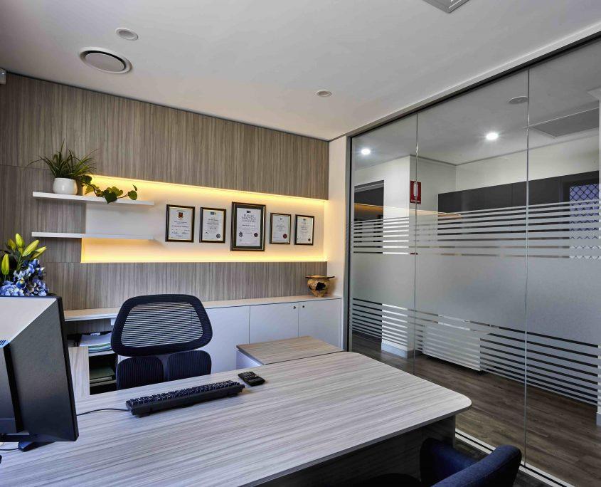 Modern office Sunshine Coast, accountant