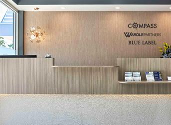 Wardle Partners Caloundra Reception Desk