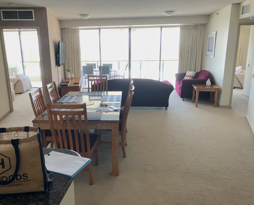BEFORE - Lounge and Dining