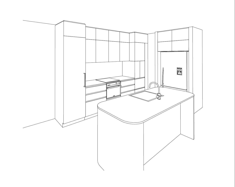 Kitchen_Design_Sketch_Caloundra
